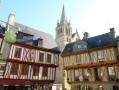 Colombages et cathédrale