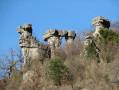 Colonnes de calcaire