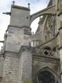Côté église Saint Sulpice de Favières