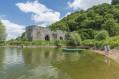 Cotoyer la Loire et les édifices de Champtoceaux