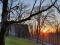 Coucher de soleil depuis la citadelle