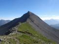 Mont Mounier depuis le col de l'Espaul