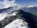 Crête Sud du Rocher Lorzier et Rocher de Chalves