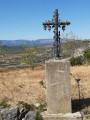 Croix à l'entrée de Mirabel 07170