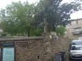 Croix angle du mur