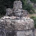 Croix sculptée dans le basalte