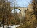 Le Belvédère du Vieux-Château et le Pont du Diable