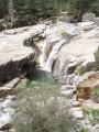 Dalle de granite , eau claire