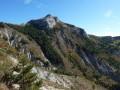 Dans la descente sous le Col de Bois Rien