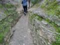 Dans le sentier de Roumagnan