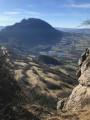 Mont de la Charvaz en boucle par la crête Sud