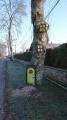 Décoration porte et fenêtres dans un arbre