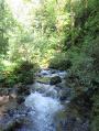 """Démarrage de la randonnée en longeant le ruisseau """"La Lauch"""""""