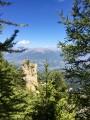 Col de la Rousse et Pic de Charance à partir de la Grande Cabane