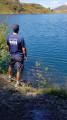 Depuis le bord du lac