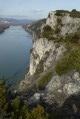 Depuis les falaises de Donzère
