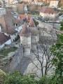 Des remparts, vue sur la Porte Rivotte.