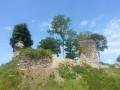 Des ruines romantiques majestueuses