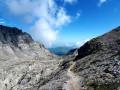 Descente du Pic d'Anie
