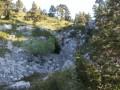 descente en direction du chalet de l'Alpe