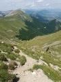 Descente vers le Col de Seysse