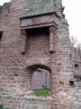 Détail du château de Wangenbourg