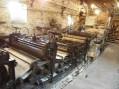 détail, ligne de fabrication papeterie de Vaux