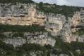 Détails des falaises du cirque de Gaud