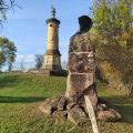 Deux monuments à la mémoire des soldats Basse-Silésie