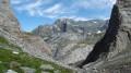 Deuxieme partie de la descente du col du Grand Marchet