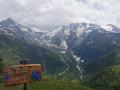 Chalets de Miage et Mont Truc depuis La Gruvaz