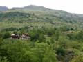 Le village de Dormillouse par l'ancienne route