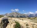 Du col de Palmente, vue sur le Monte d'Oro