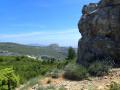 Du pic du Taoumé, vue sur le Garlaban