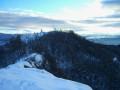 Du sommet coté 840 m