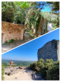Village troglodytique de Barry, châteaux de Barry et de Chabrières