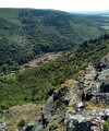 Durfort vue de l'oppidum