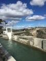 Écluse du canal de Marseille