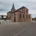 La collégiale de Surbourg à partir de Biblisheim