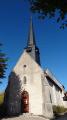Église Saint Jean Baptiste à Montrieux-en-Sologne