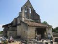 Église Saint-Martin de Lugaignac, XIIe siècle.