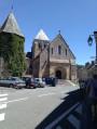 Eglise St Aubin de Bazouges sur le Loir