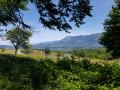 en arrivant sur Le Bourget du Lac