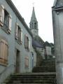 En descendant de l'Église Saint-Jacques