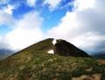Le Pic de Mont Aspet depuis la Station de ski de fond de Nistos Cap Nestès