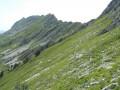 En vue du Col Vert