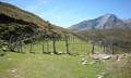 Enclos à moutons avec le Gabizos en arrière plan