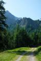 Entre la Bergerie et la Cabane de la Lavine