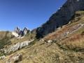 Entre le Col Vert et la Combe Charbonnière
