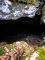 Entrée de la grotte de Roche-Chèvre